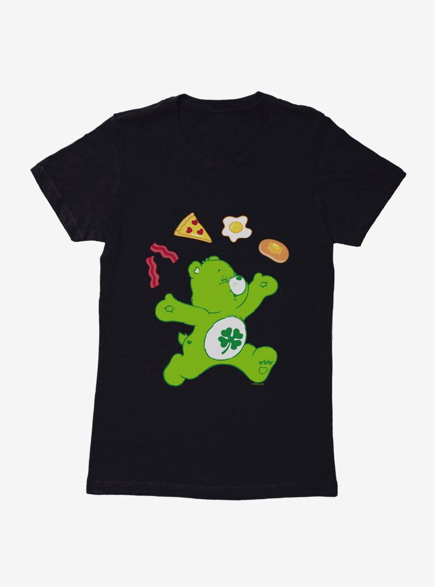 Care Bears Good Luck Bear Breakfast Womens T-Shirt
