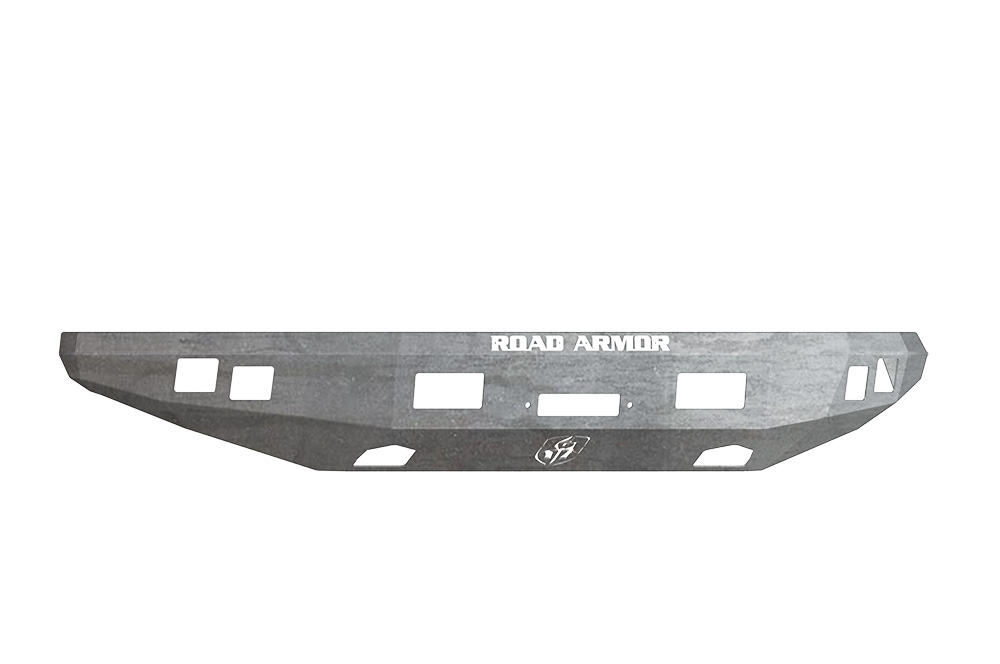 FORD Front Winch Bumper Square Light Ports F-150 RAPTOR 10-14 RAW Road Armor 614R0Z Stealth Series