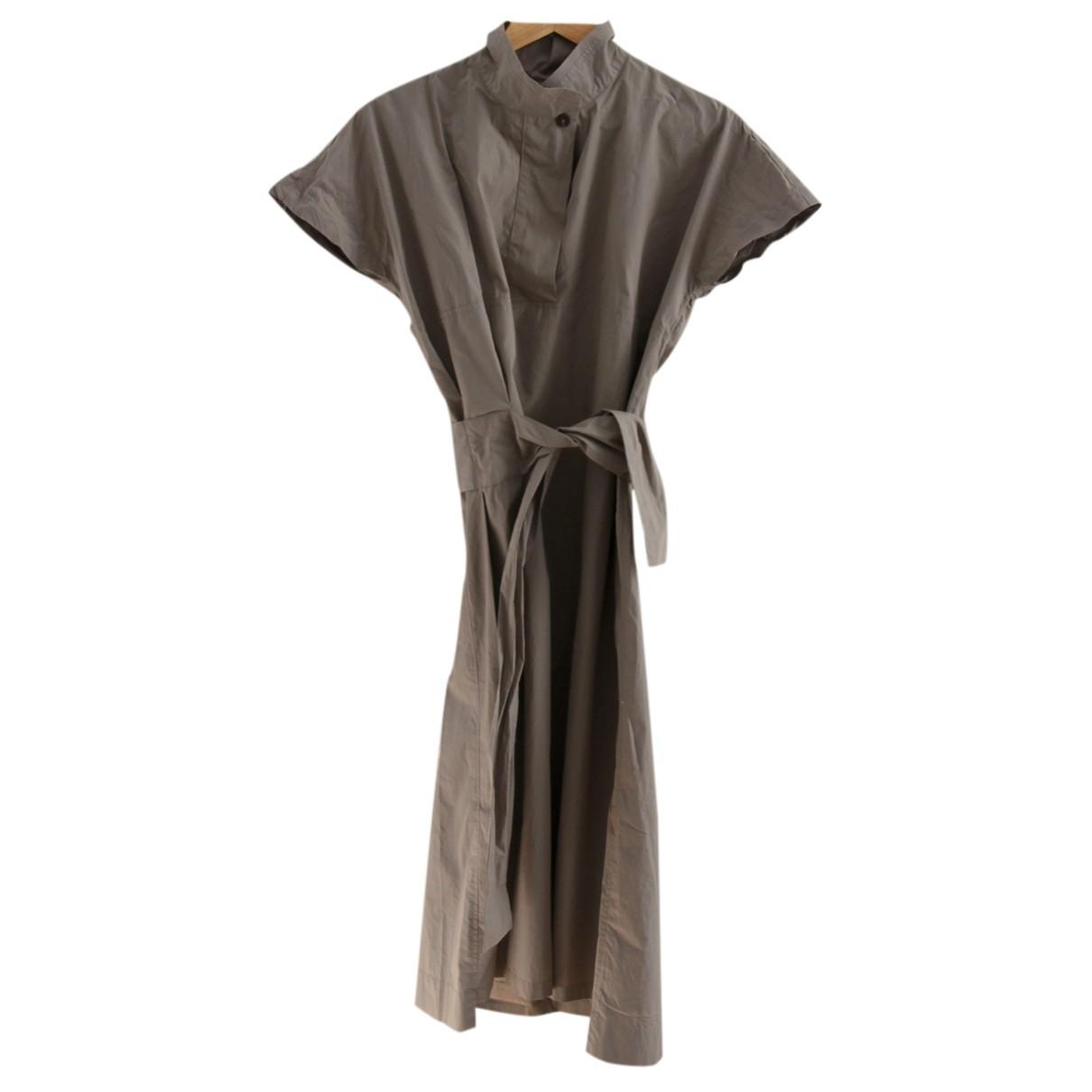 Humanoid - Robe   pour femme en coton - beige