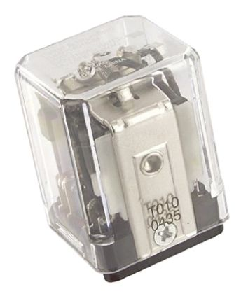 TE Connectivity , 24V Coil Non-Latching Relay 3PDT, 15A Switching Current Plug In, 3 Pole