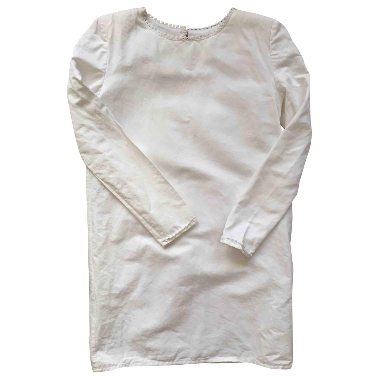 Flolove \N White Cotton dress for Women S International