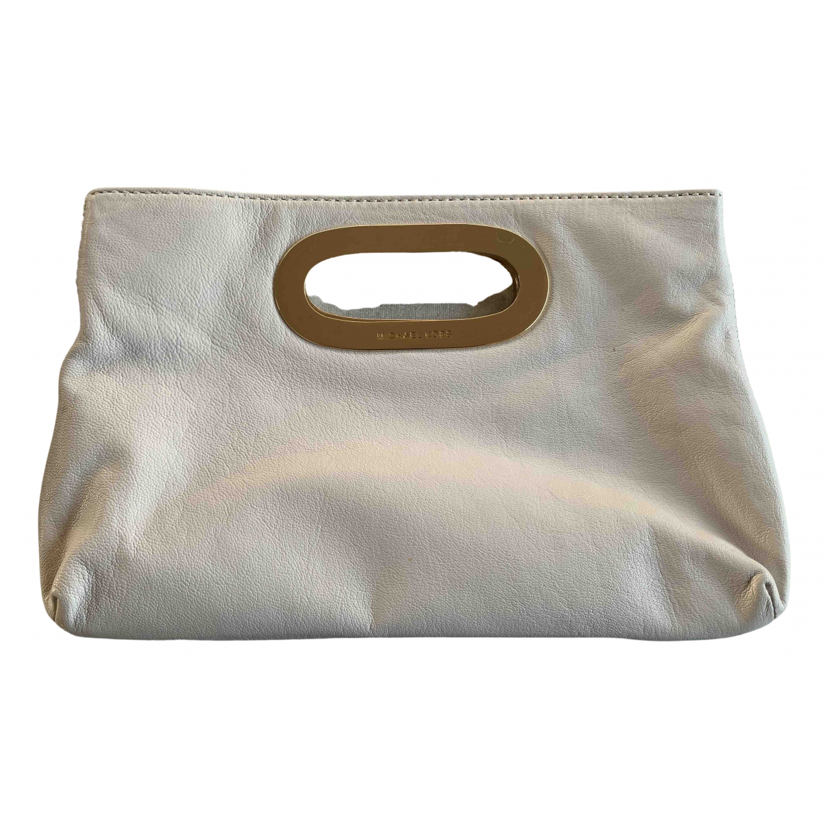 Michael Kors N White Leather Clutch bag for Women N