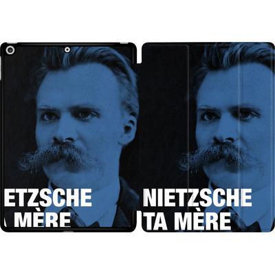 Apple iPad 9.7 (2017) Tablet Smart Case - Nietzsche Ta Mere von Fists Et Lettres