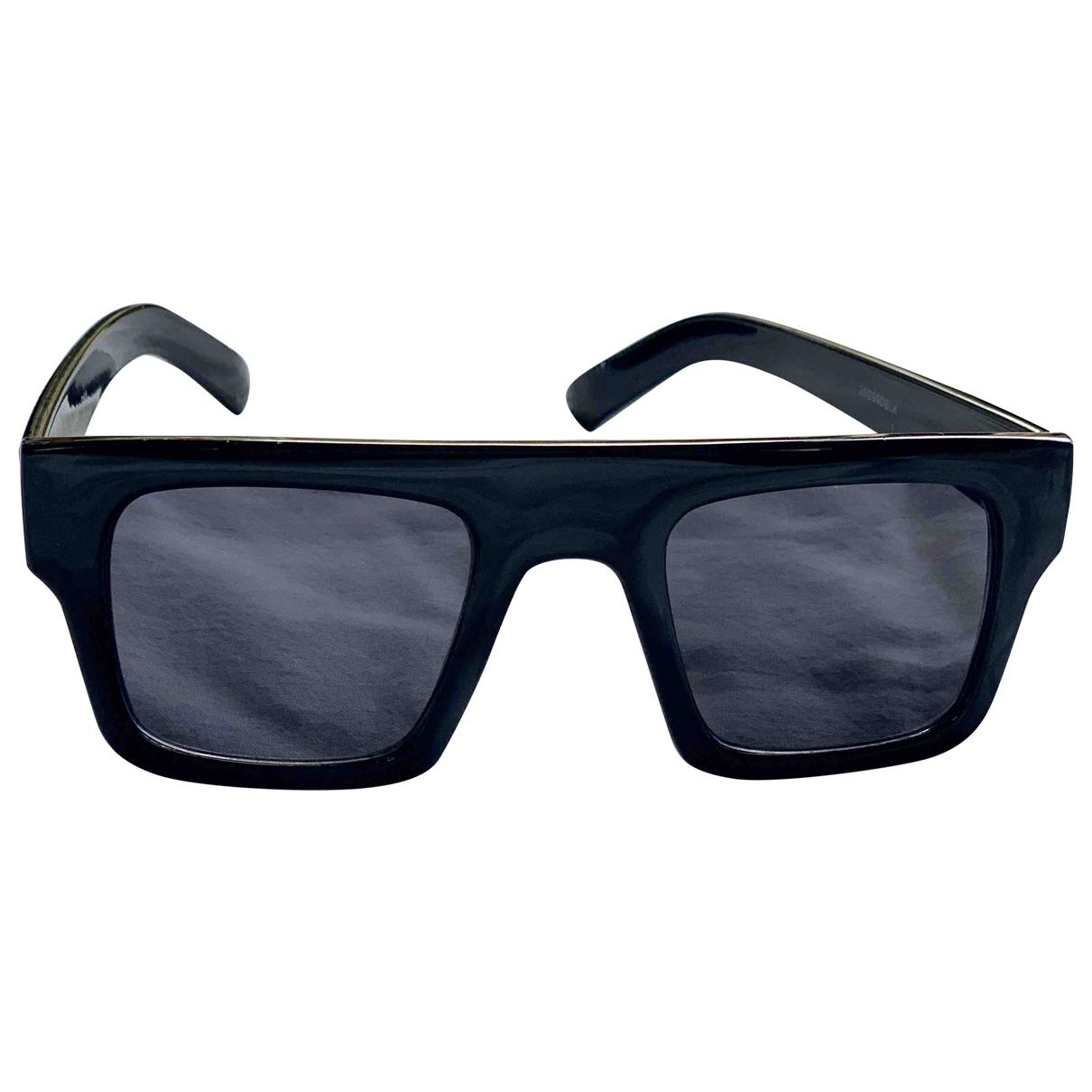 Tophop X J.w. Anderson \N Sonnenbrillen in  Schwarz Kunststoff