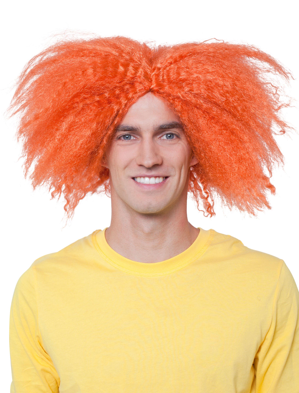 Kostuemzubehor Peruecke Kevin orange