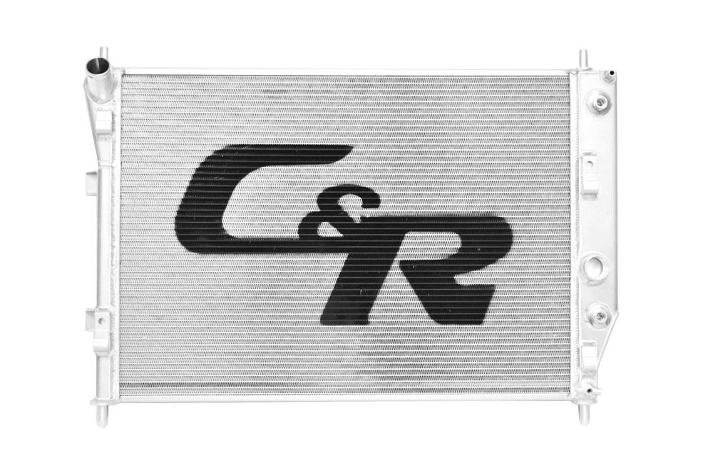05-12 Chevrolet C6 Corvette Base OE Fit 36mm Single Row W/ 7 Plate Transmission Oil Cooler W/ OE Fittings