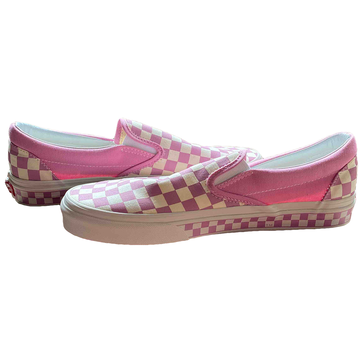 Vans \N Pink Cloth Trainers for Men 42.5 EU