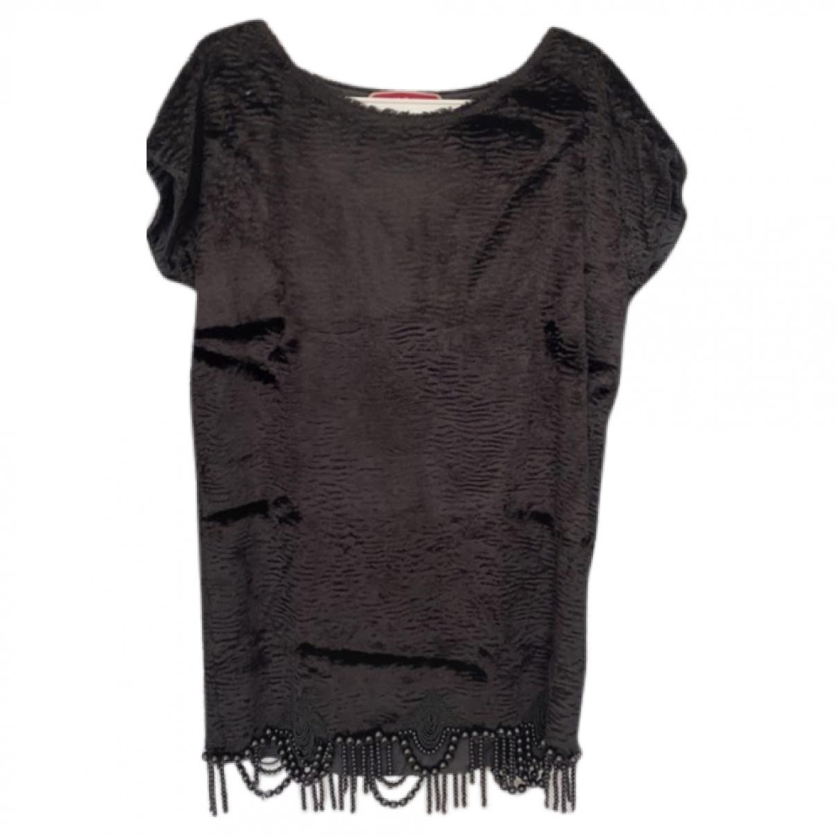 Manoush \N Black Cotton dress for Women 40 FR