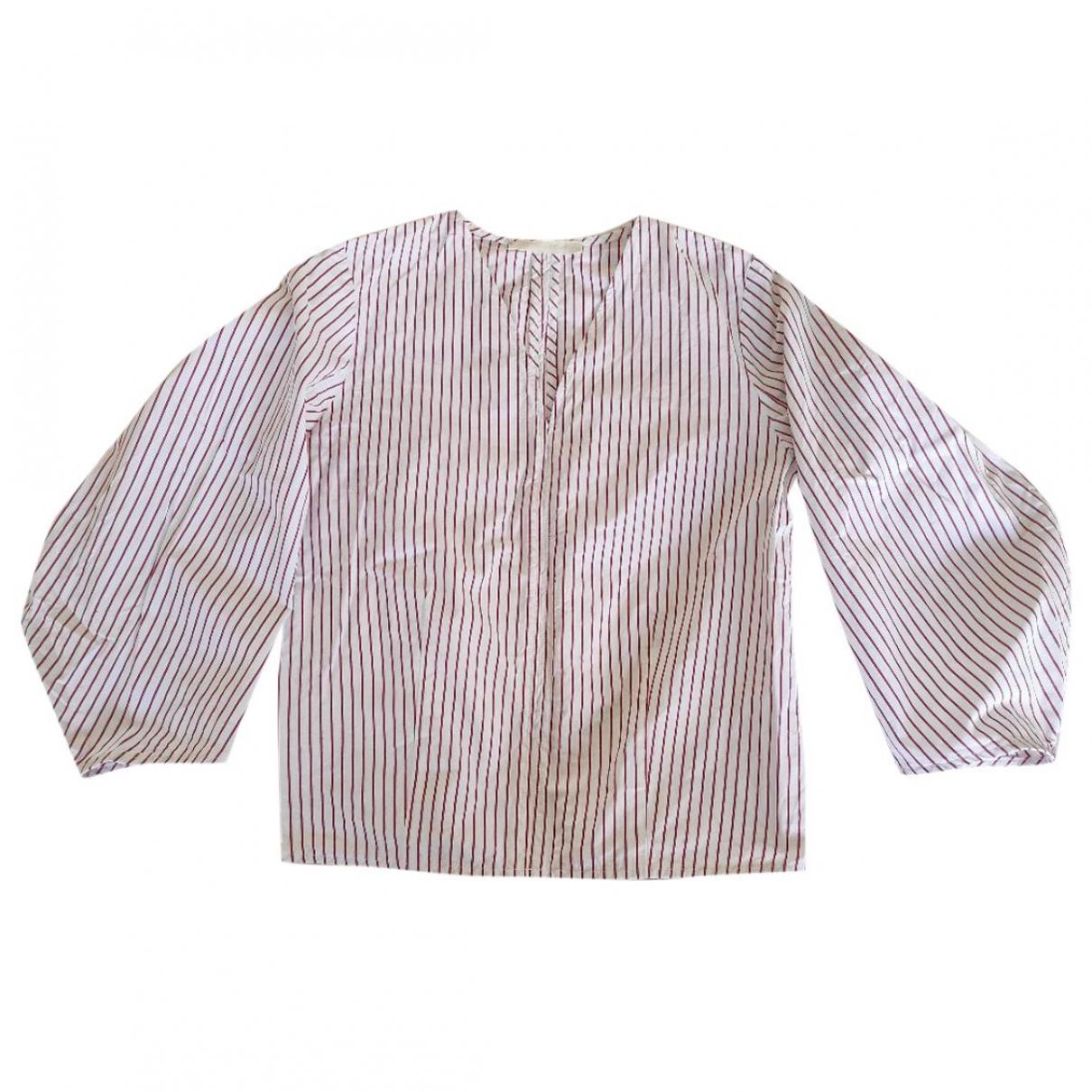Creatures Of Comfort - Top   pour femme en coton - blanc