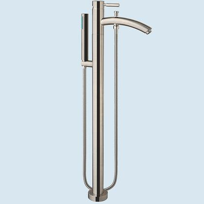 WCAT102340P11-BN Taron Floor Mounted Faucet  with Solid Brass Core  Dripless German Cartridge  9