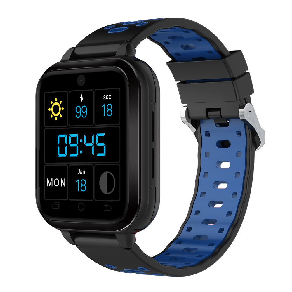 FINOW Q2 4G 1+16G GPS WIFI 2.0MP HD Camera Smart Watch Phone 1.54in Color Screen IP67 Waterproof Heart Rate Monitor Spor