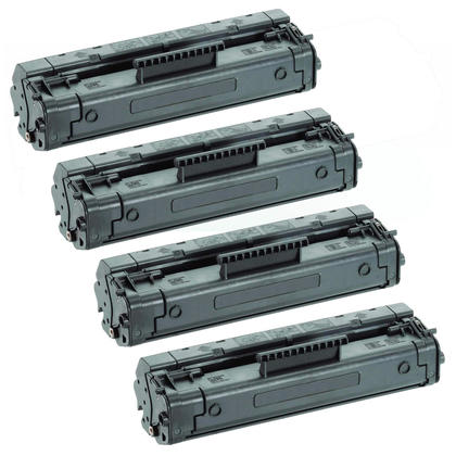 Compatible HP 92A C4092A Black Toner Cartridge - Economical Box - 4/Pack