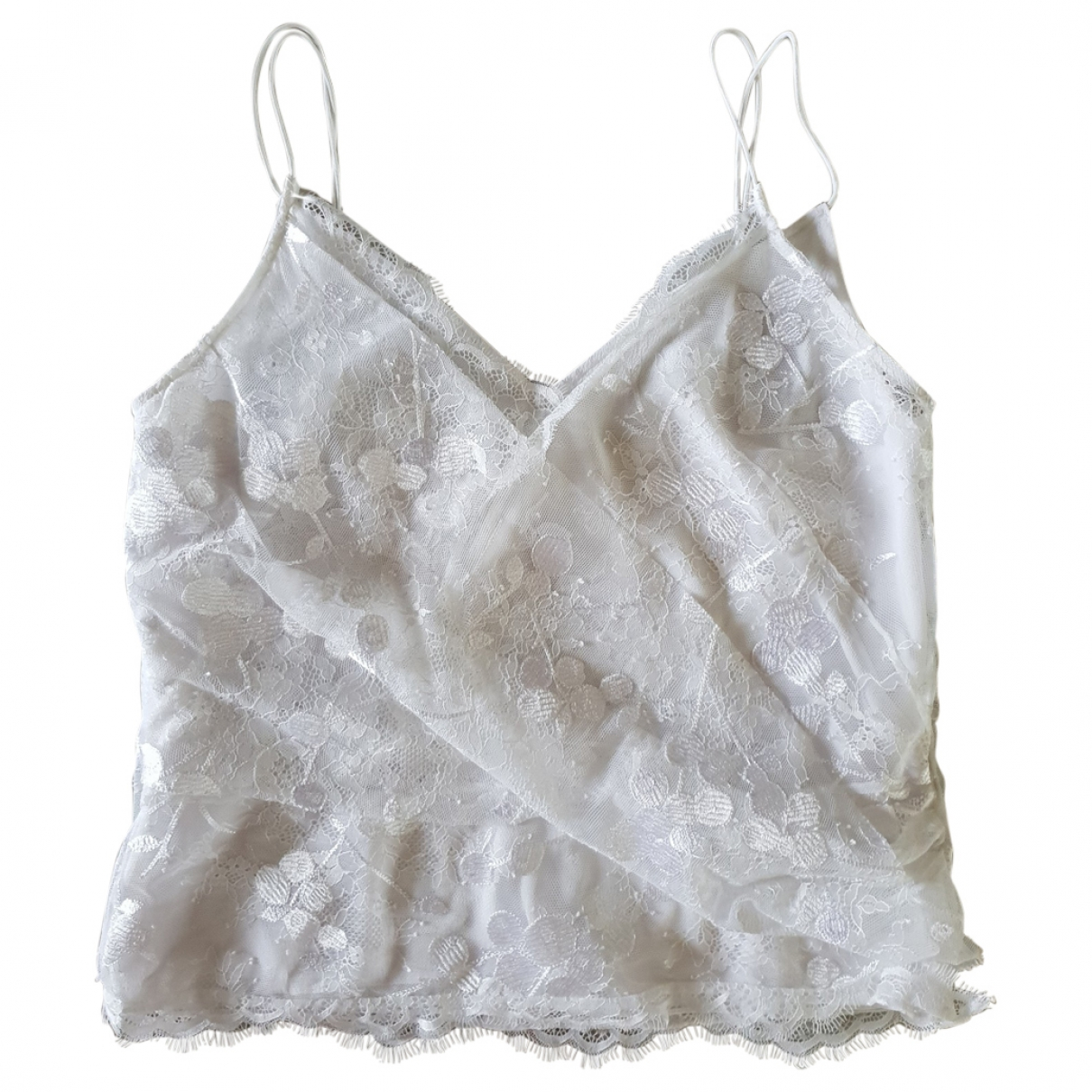 Carven \N Top in  Weiss Polyester