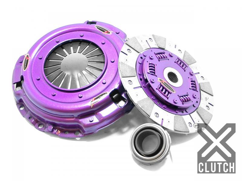 XClutch XKHN22003-1C Clutch Kit Stage 2 Single Cushioned Ceramic Clutch Disc