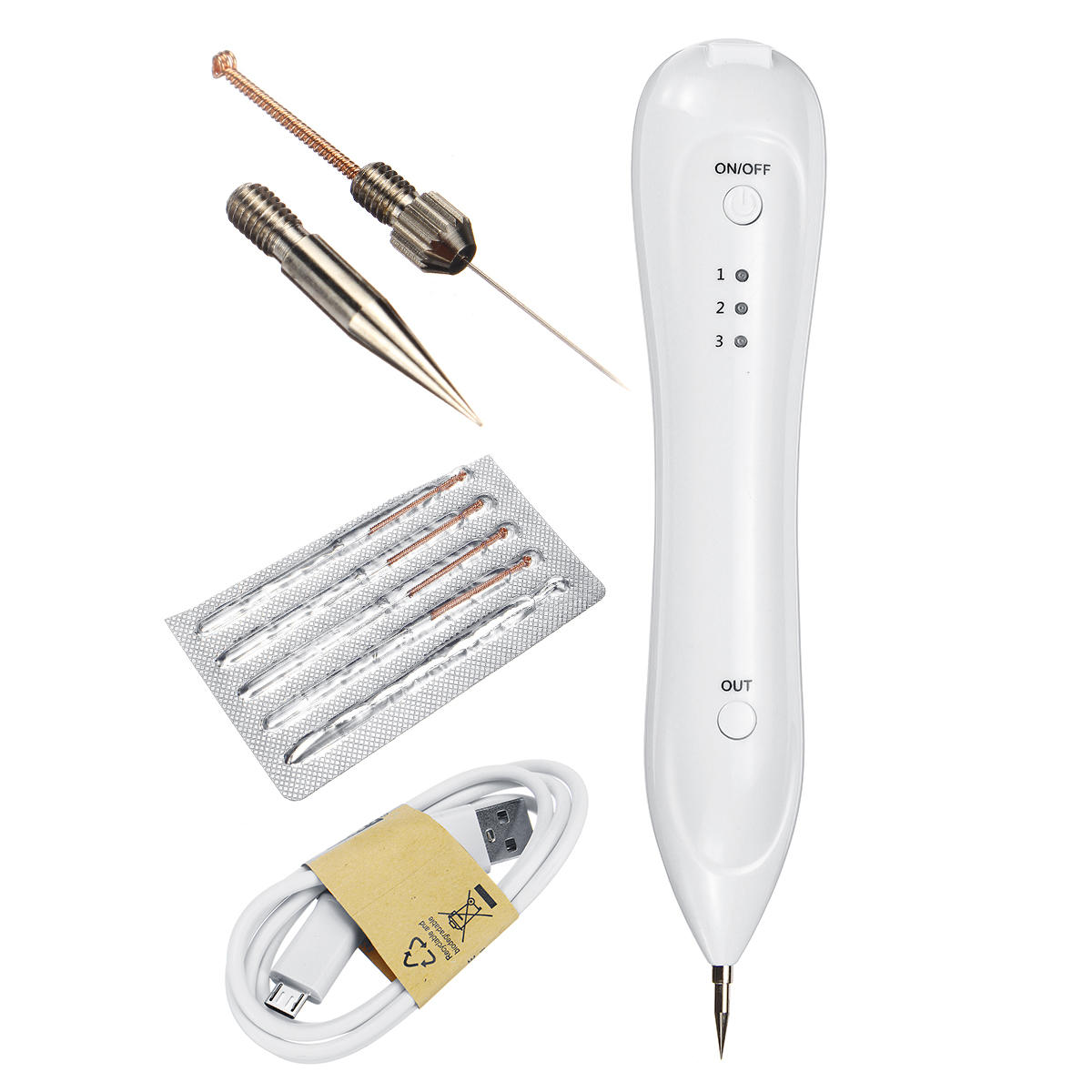 Laser Freckle Removal Machine Skin Mole Removal Pen