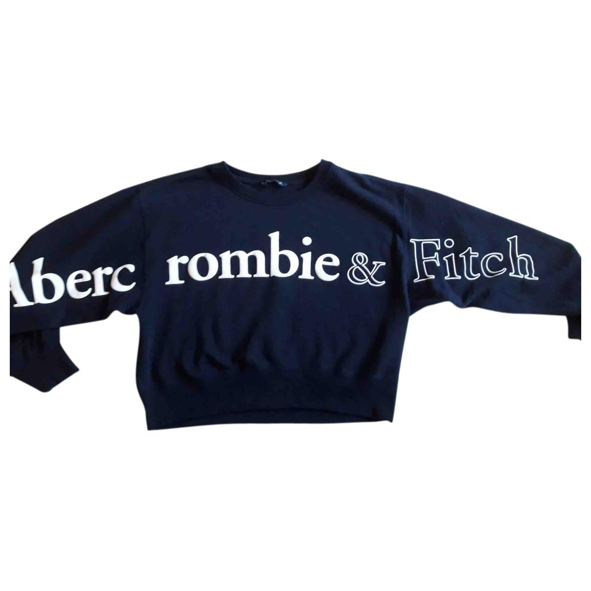 Abercrombie & Fitch - Pull   pour femme en coton - bleu