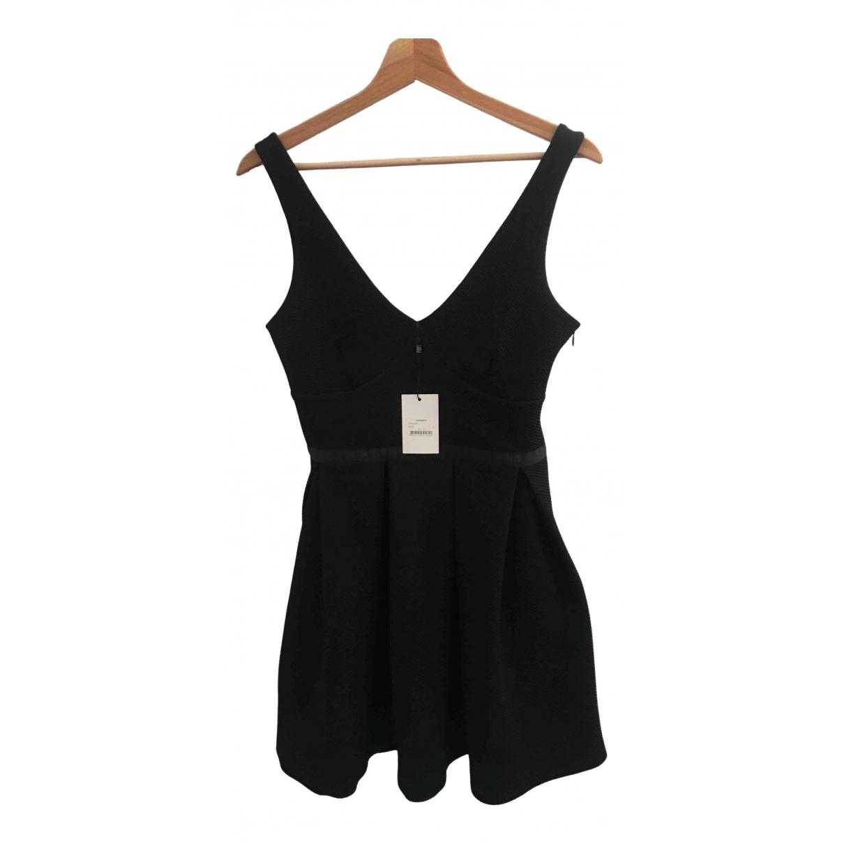 Claudie Pierlot - Robe   pour femme en coton - noir