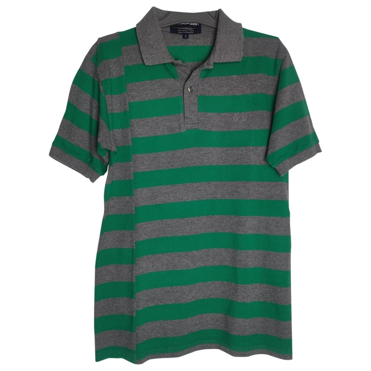 Comme Des Garcons - Polos   pour homme en coton - vert