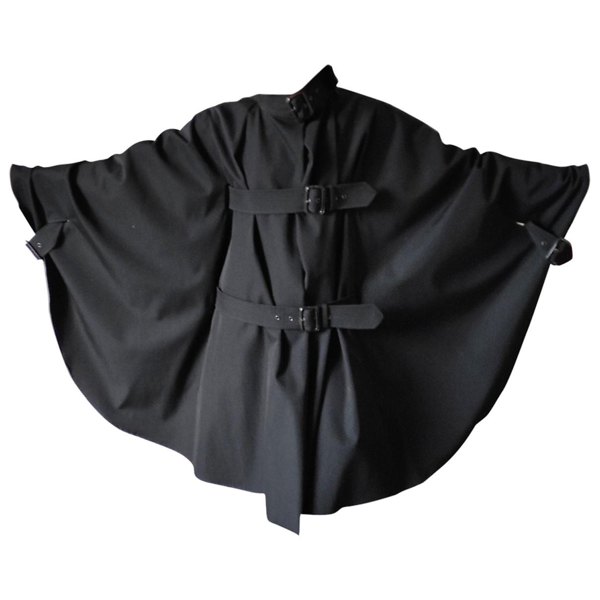 Jean Paul Gaultier \N Trench in  Schwarz Wolle