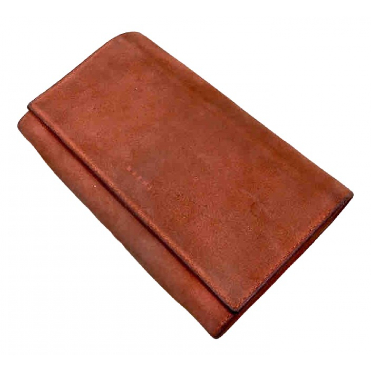Marni \N Portemonnaie in  Orange Leder