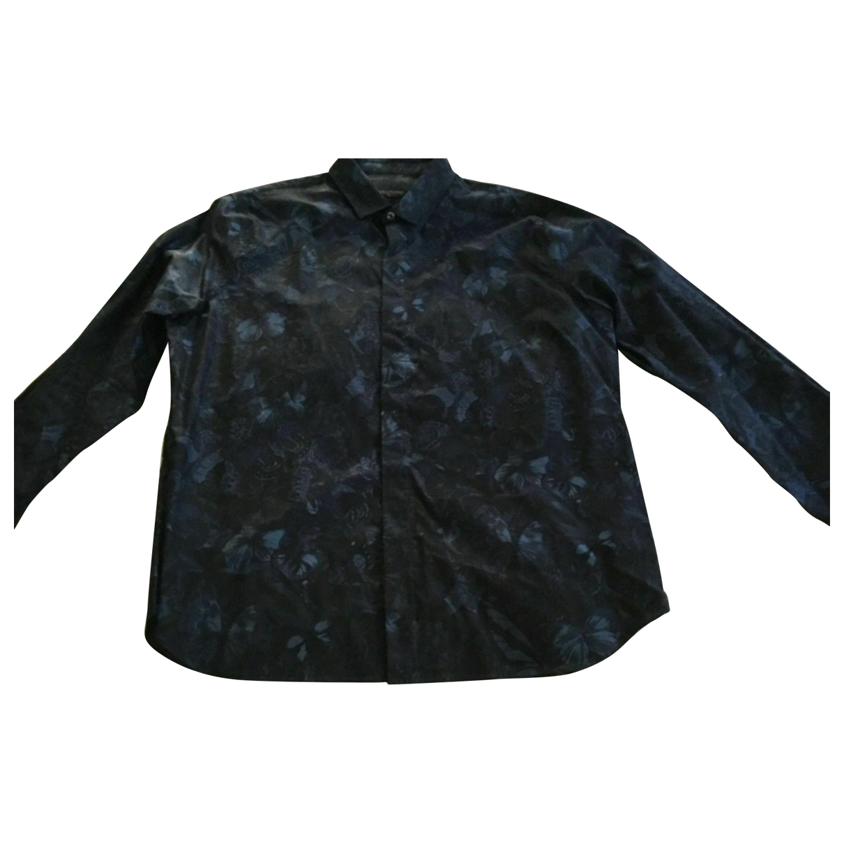 Valentino Garavani - Chemises   pour homme en coton - marine