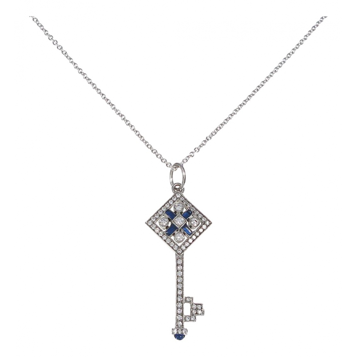 Tiffany & Co Cles Tiffany Kette in Weissgold