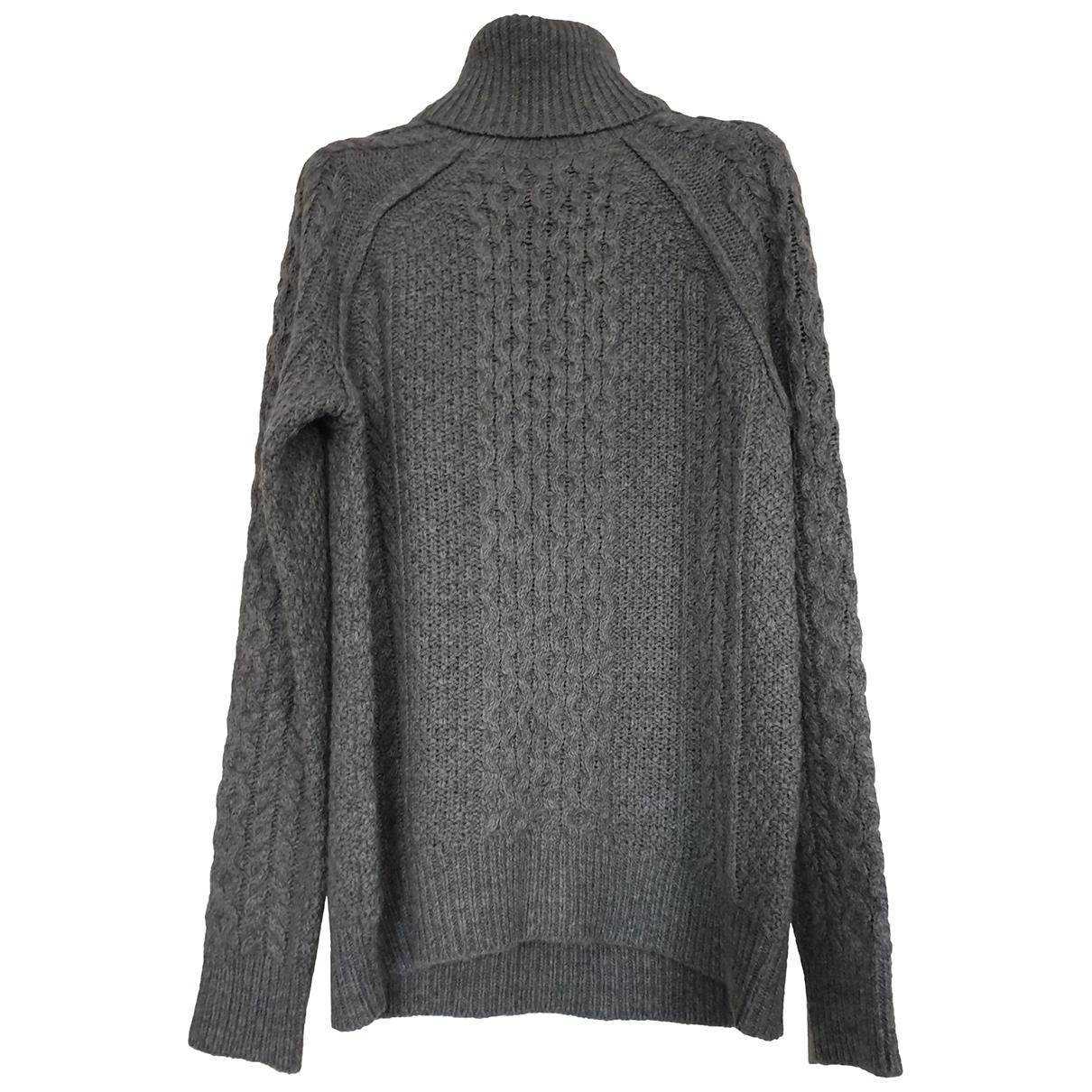 Vince - Pull   pour femme en laine - gris