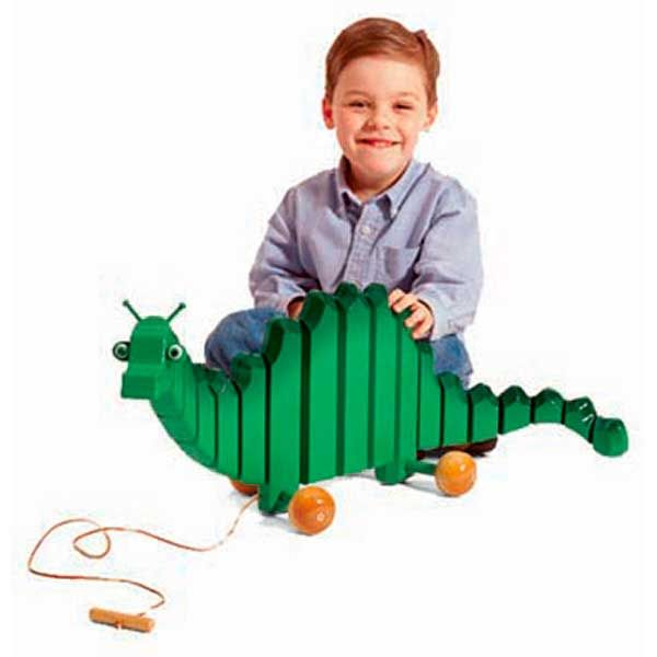Woodworking Project Paper Plan to Build Swinging Toy Dragon