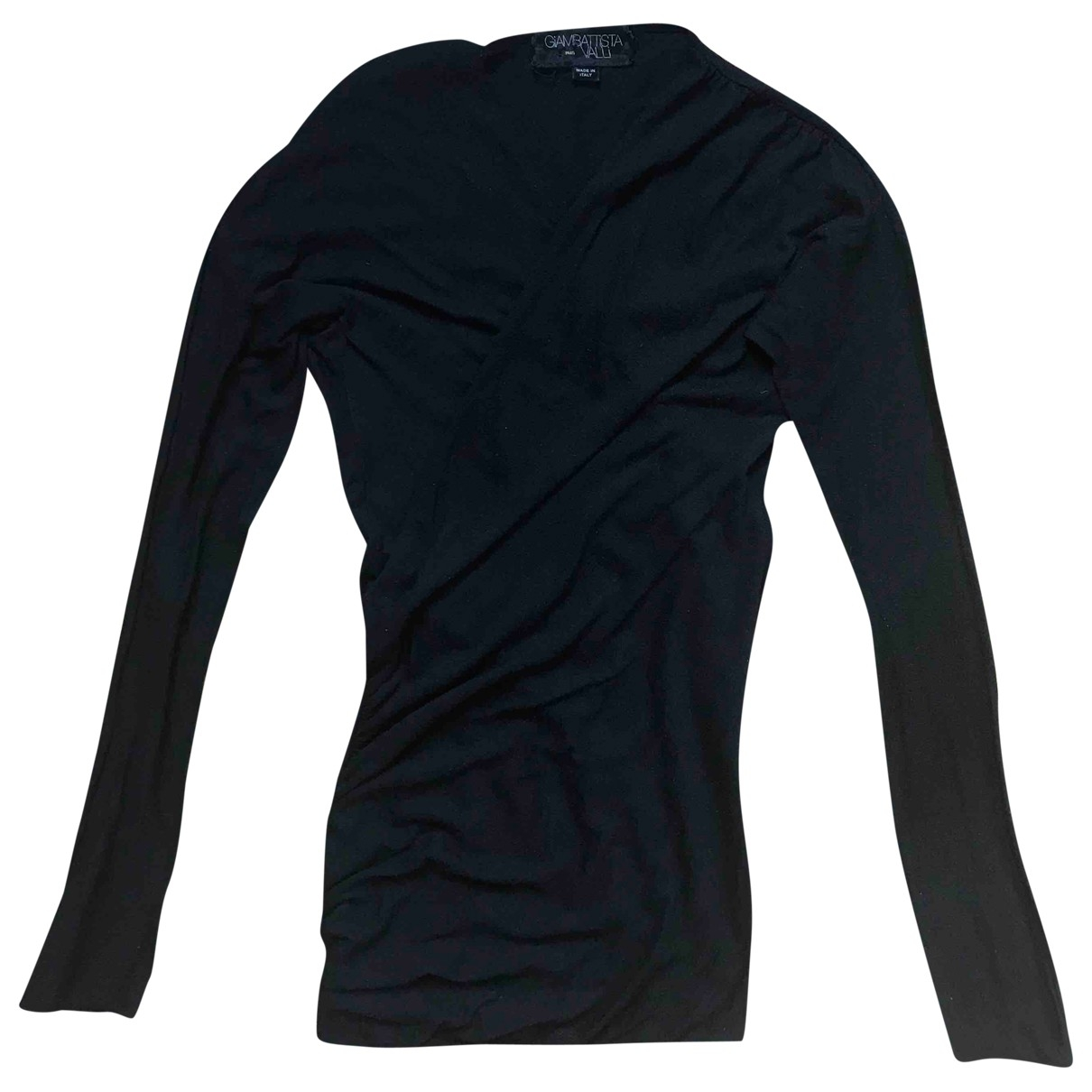 Giambattista Valli \N Black Wool Knitwear for Women M International