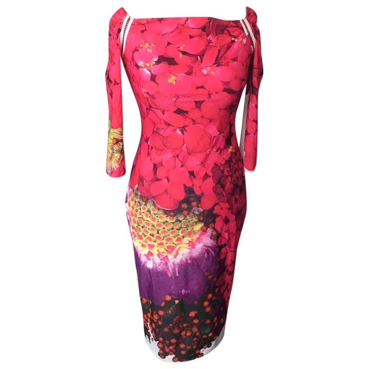 Roberto Cavalli - Robe   pour femme - multicolore
