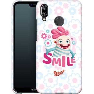 Huawei P20 Lite Smartphone Huelle - Sorgenfresser Smile von Sorgenfresser