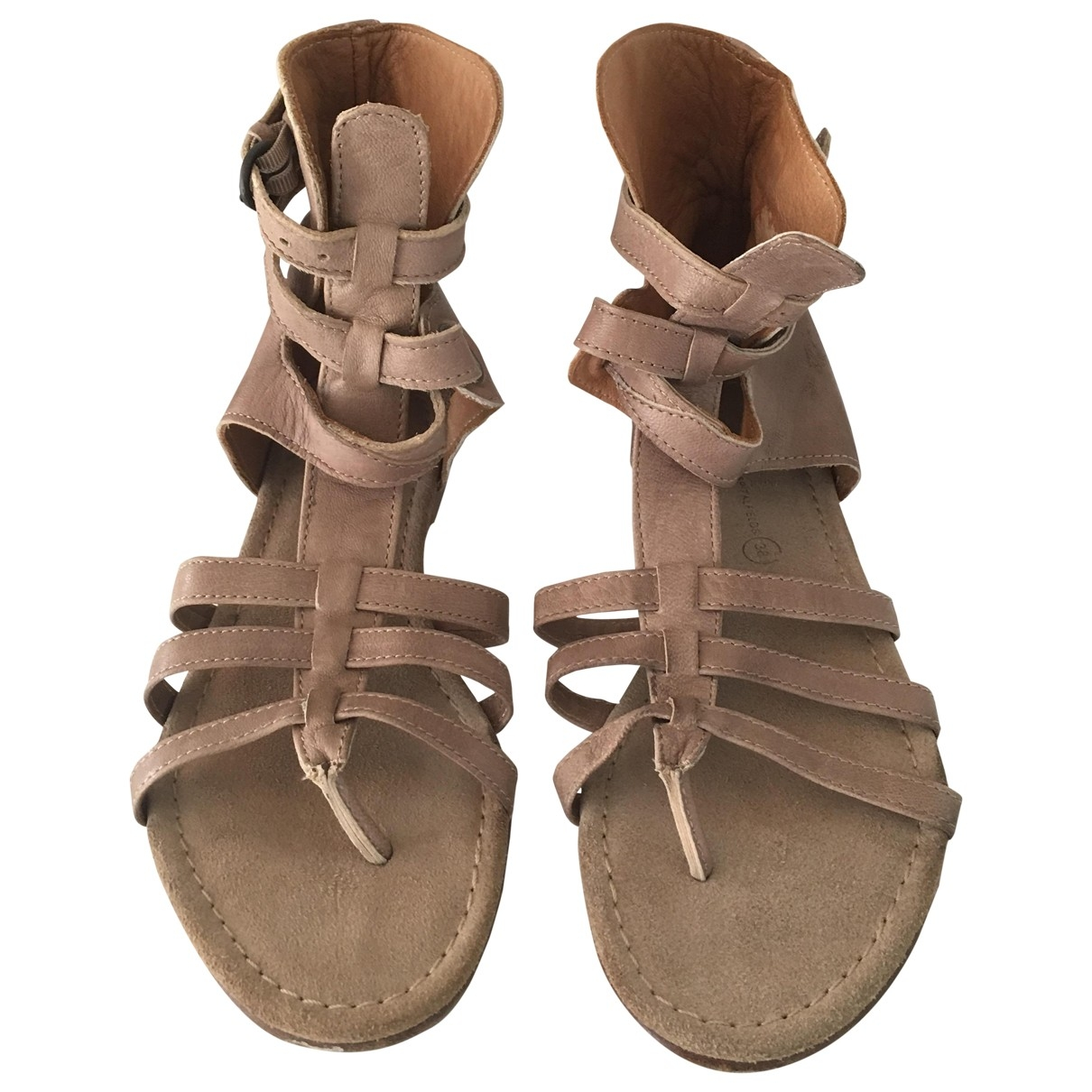 All Saints \N Sandalen in Leder