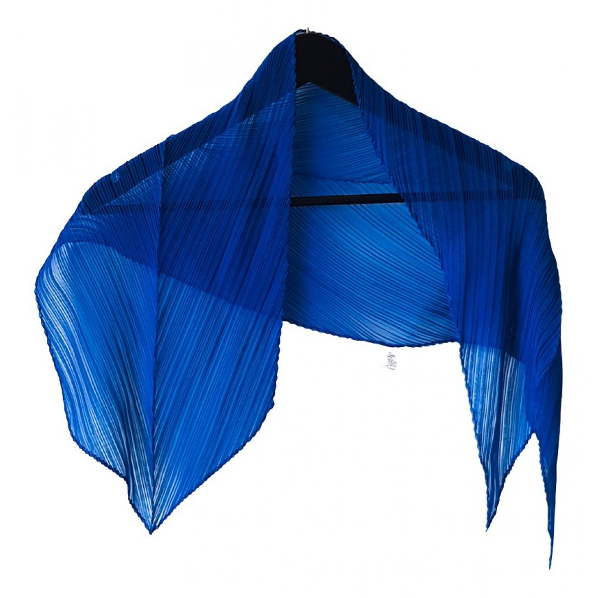 Pleats Please - Foulard   pour femme - bleu