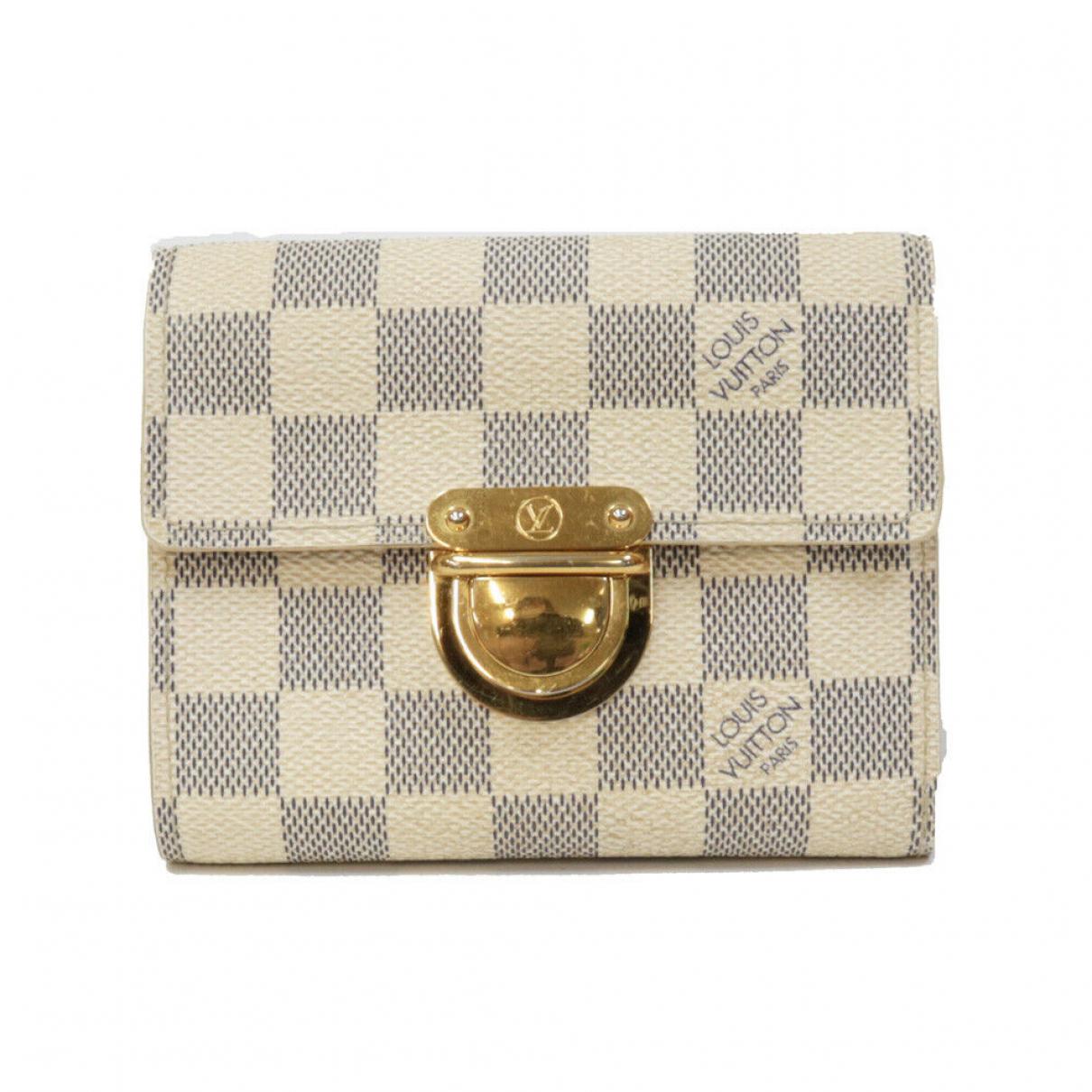 Louis Vuitton - Portefeuille   pour femme en autre - blanc