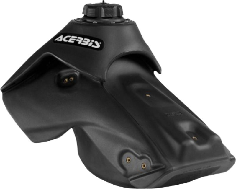 Acerbis 2253660001 Large Capacity Fuel Tank 2.8 Gallon Black Kawasaki KX450F 09-15