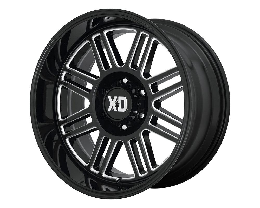 XD Series XD85029068300 XD850 Cage Wheel 20x9 6x6x139.7 +0mm Gloss Black Milled