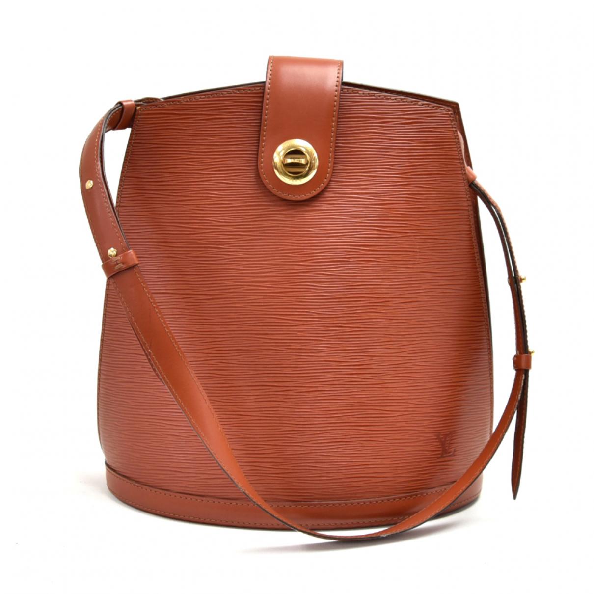 Louis Vuitton Cluny Brown Leather handbag for Women N