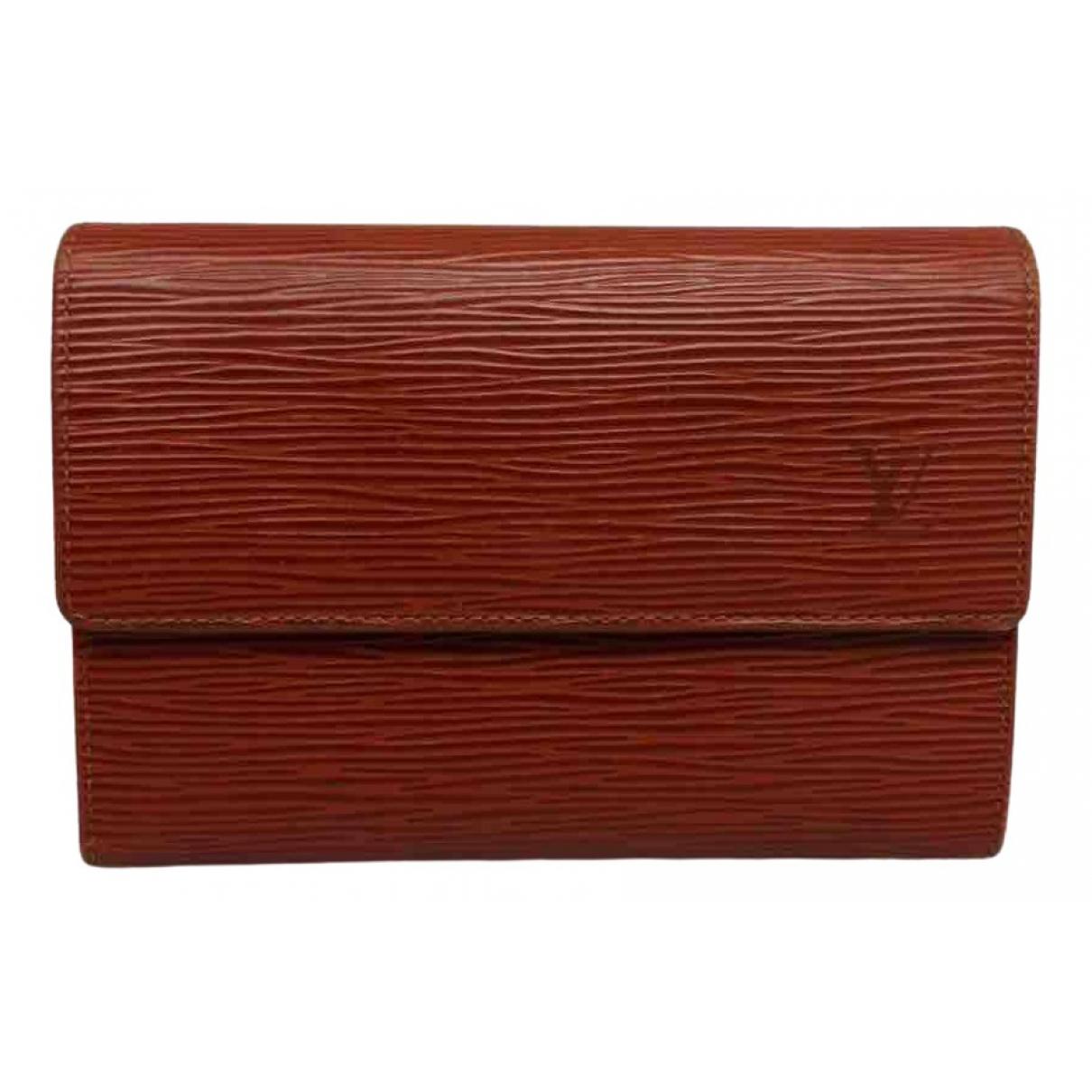 Louis Vuitton \N Camel Leather wallet for Women \N