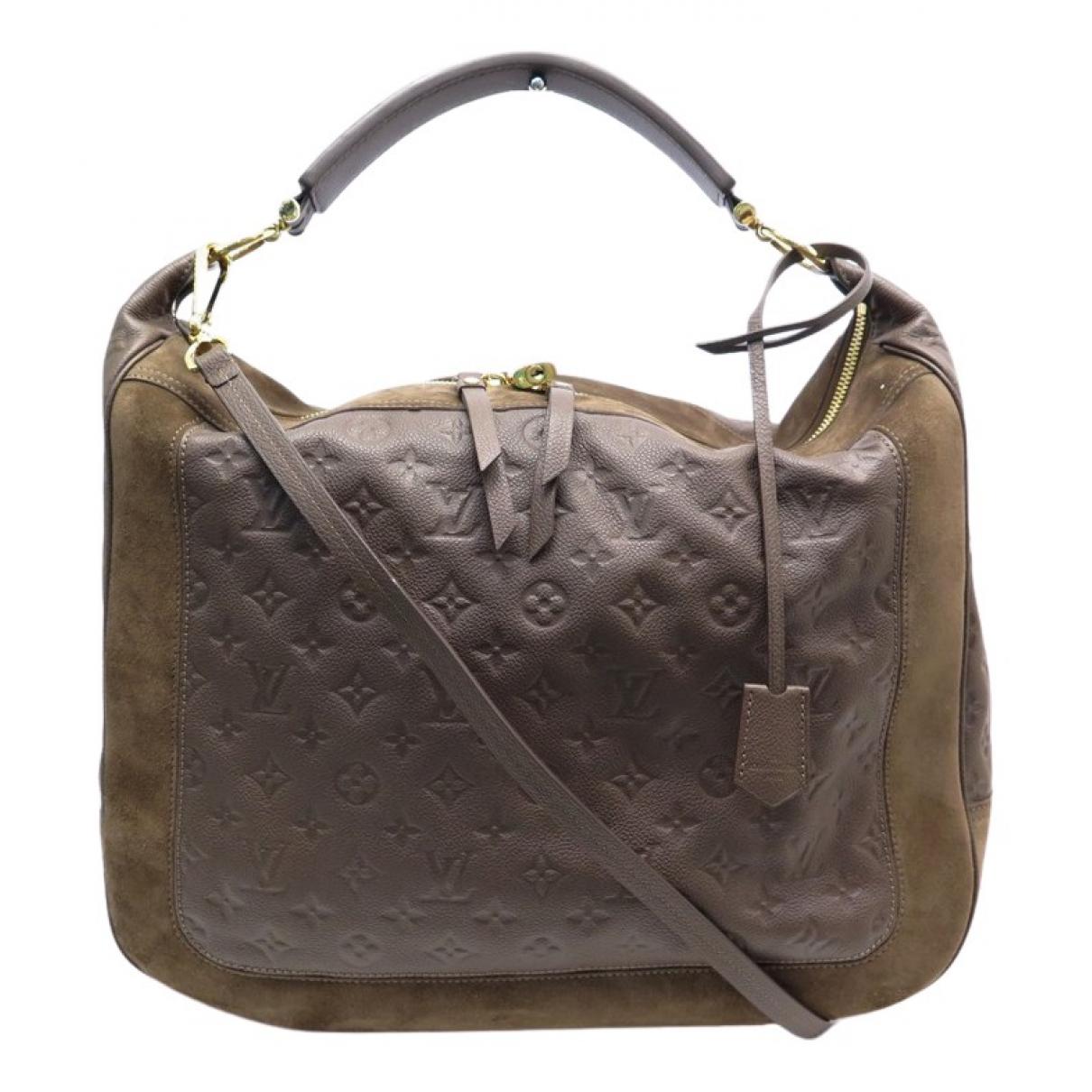 Louis Vuitton Audacieuse Brown Leather handbag for Women \N