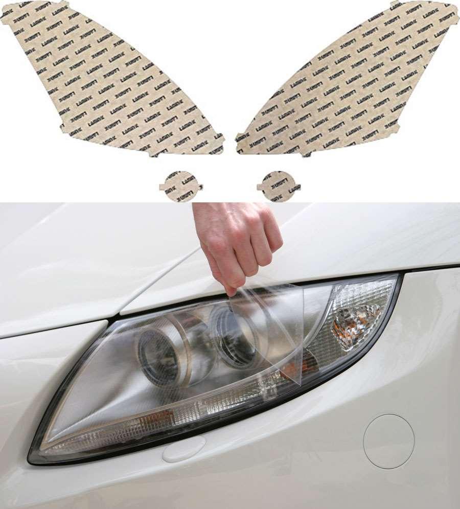 Nissan Altima Sedan 10-12 Clear Headlight Covers Lamin-X N518CL