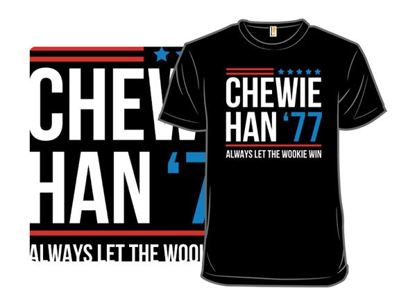 Chewie Han '77 Remix T Shirt