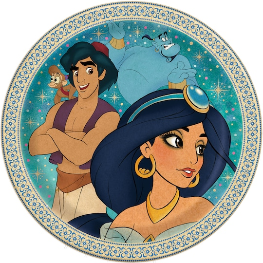 9 Aladdin Party Plates, 8Ct By Disney | Michaels®