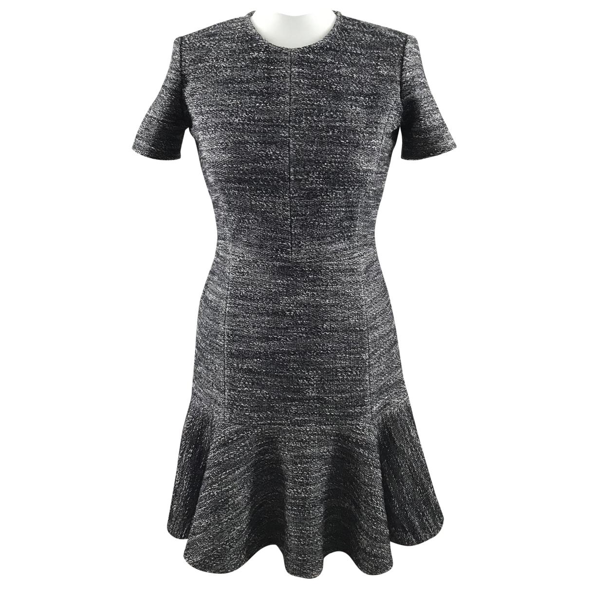 Theory \N Kleid in  Grau Baumwolle