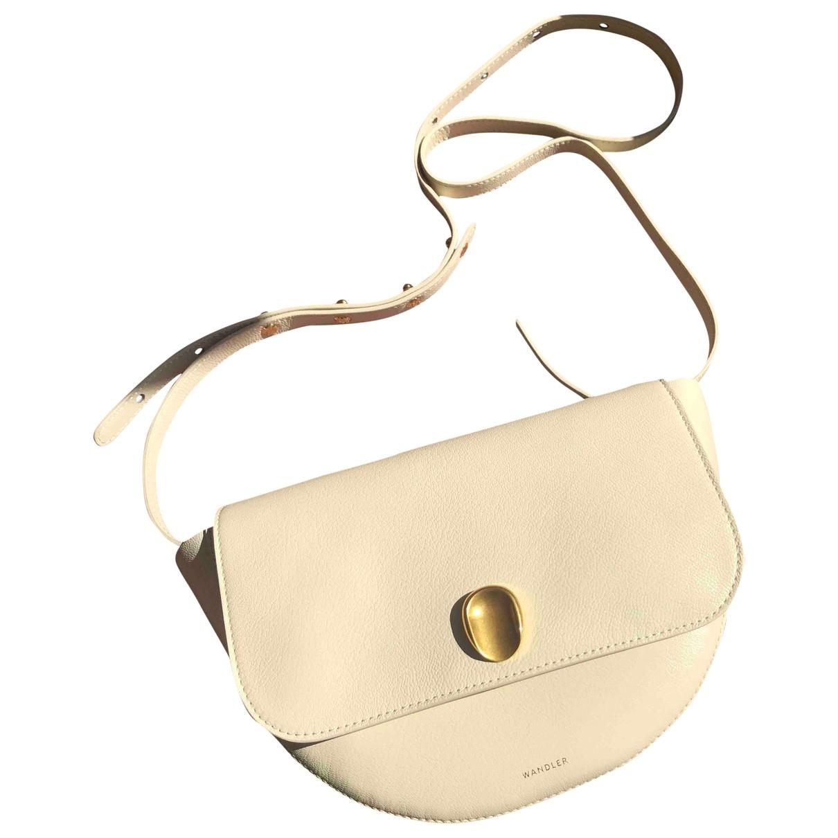 Wandler N Beige Leather handbag for Women N