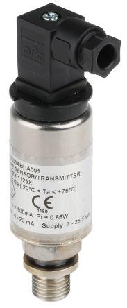 Gems Sensors Pressure Sensor for Gas, Petrochemical, Sewage , 2.5bar Max Pressure Reading Analogue