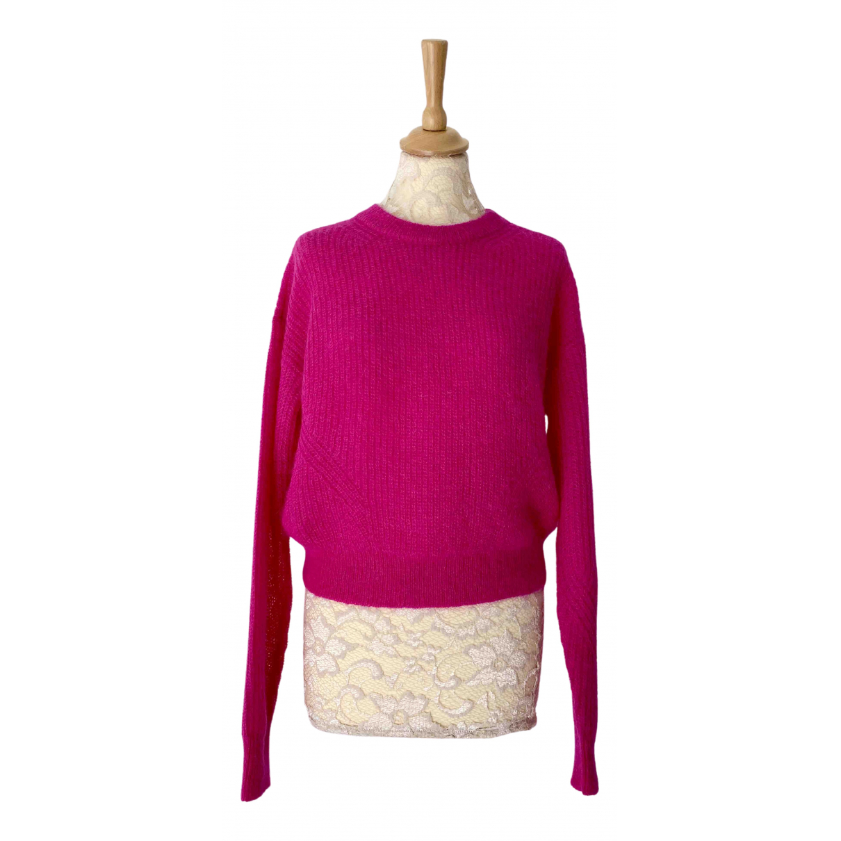 Veronica Beard \N Pullover in  Rosa Wolle
