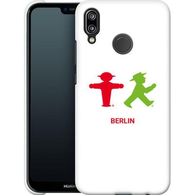 Huawei P20 Lite Smartphone Huelle - Green and Red von AMPELMANN