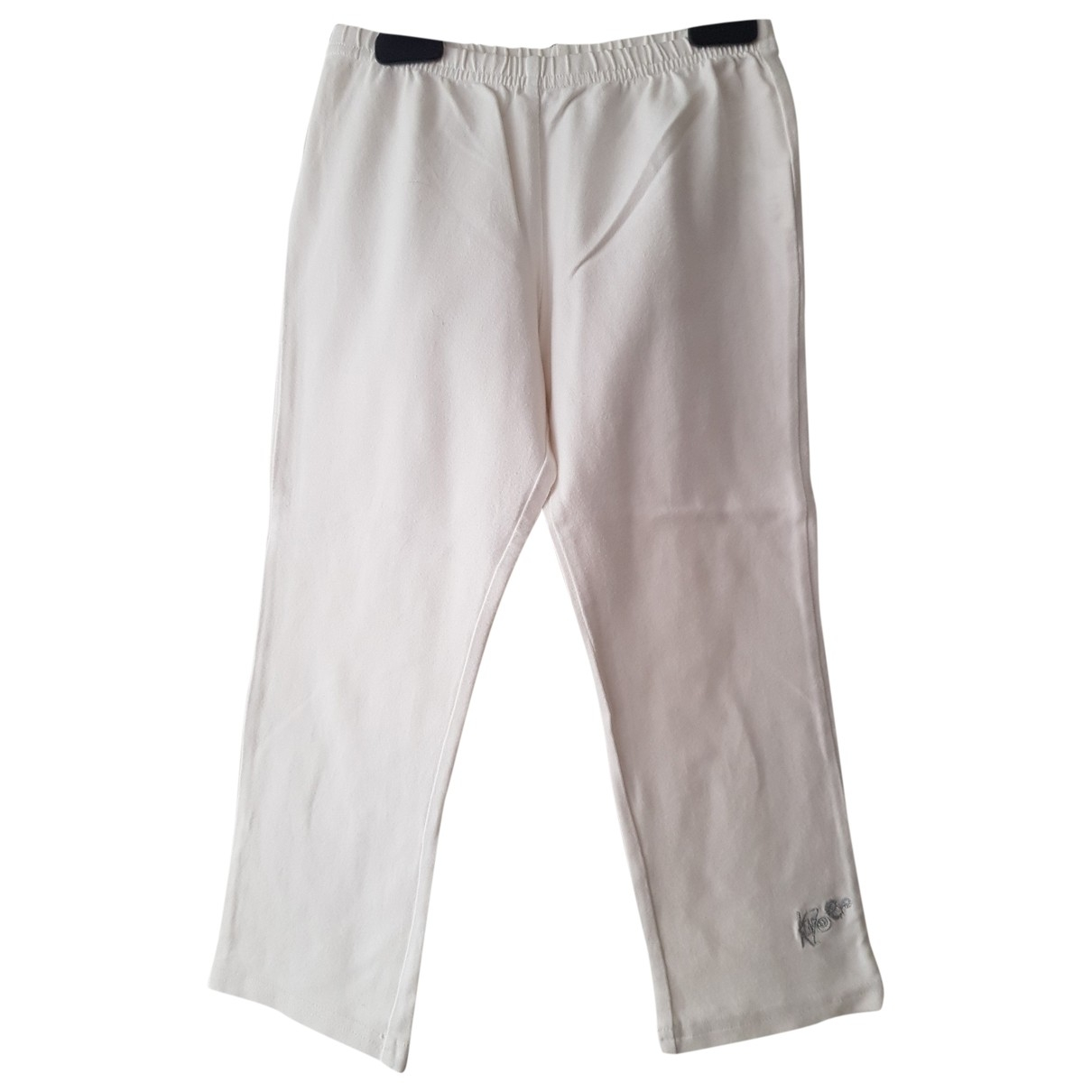 Kenzo \N White Cotton Shorts for Kids 10 years - up to 142cm FR