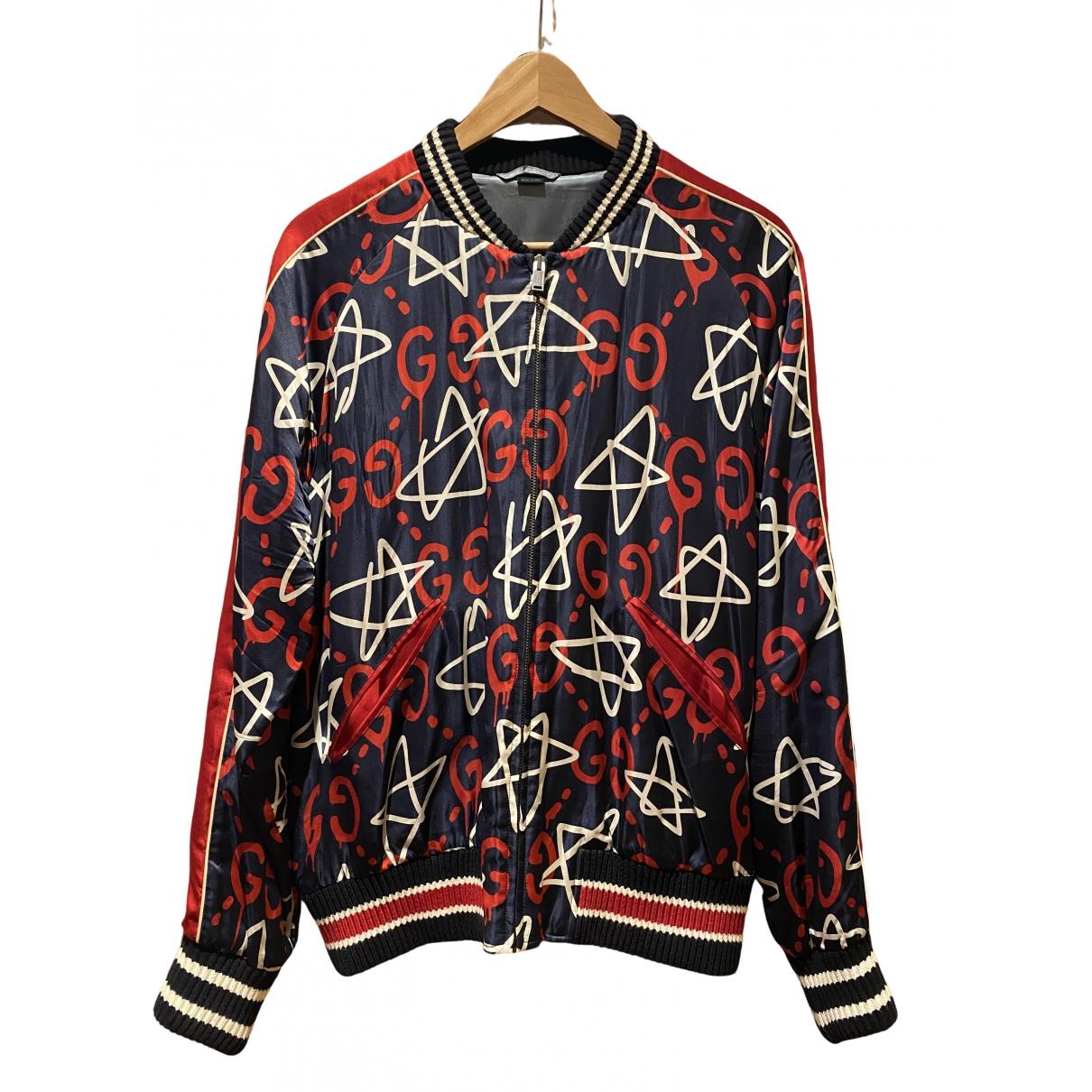 Gucci - Vestes.Blousons   pour homme en soie - multicolore