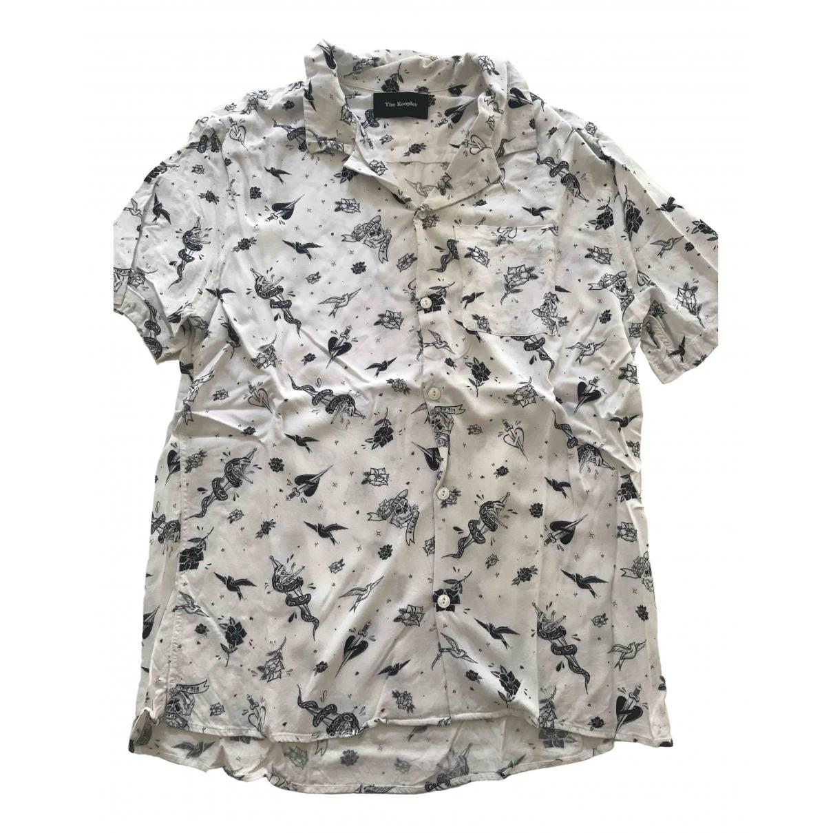 The Kooples - Chemises   pour homme - blanc